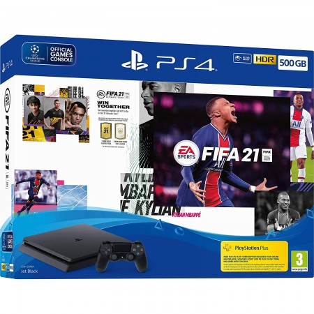 Konzola Playstation 4 500GB Slim F Chassis + FIFA 21 VCH