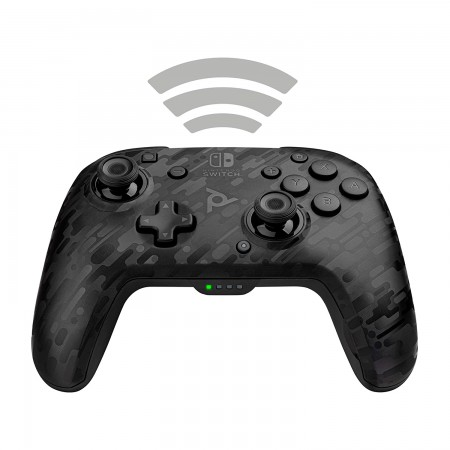 PDP Nintendo Switch Faceoff Wireless Controller Camo Black
