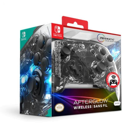 PDP Nintendo Switch Deluxe Wired Controller + Audio Afterglow