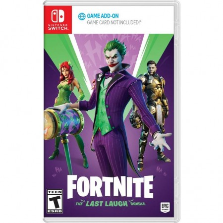 Fortnite The Last Laugh Bundle /Switch