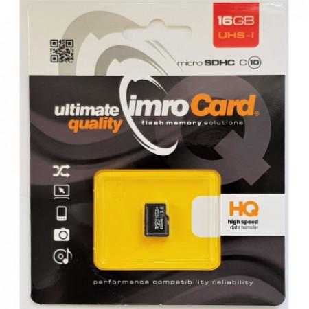 IMRO Micro SDHC Memory Card 16GB