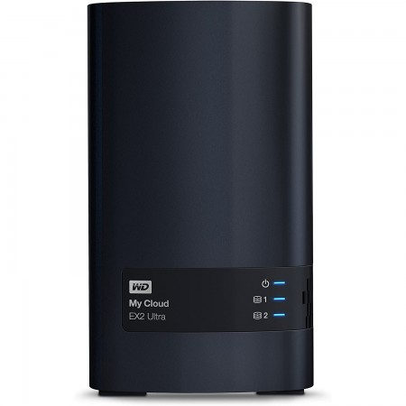 WD 16TB External HDD My Cloud EX2 Ultra