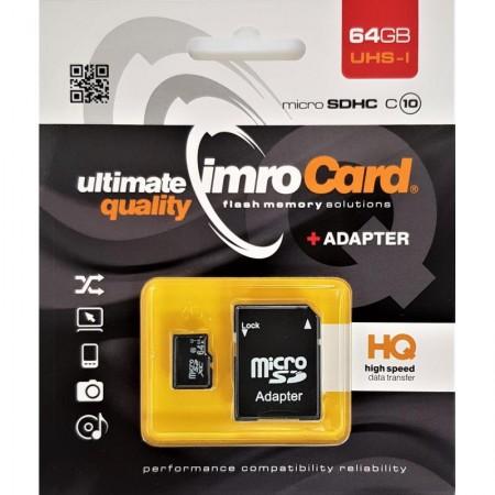 IMRO Micro SDHC Memory Card 64GB