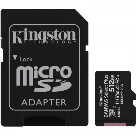 Kingston MicroSD Canvas Select Plus Memory Card 512GB Class10