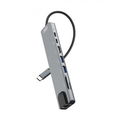 XO HUB003 USB Type-C Multi-hub 8in1