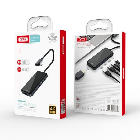XO HUB002 USB Type-C Multi-hub 5in1