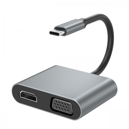 XO HUB001 USB Type-C Multi-hub 4in1