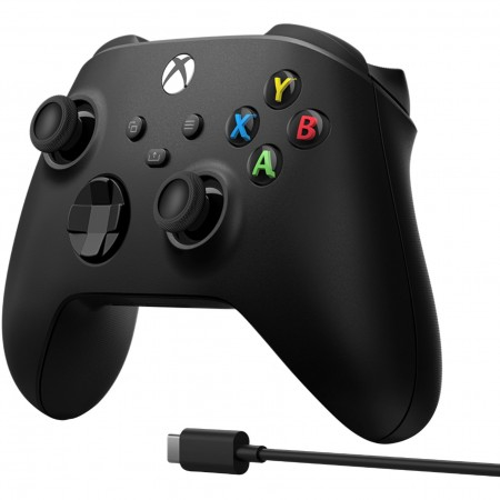Microsoft Xbox Series Controller Black + Cable for Windows USB-C