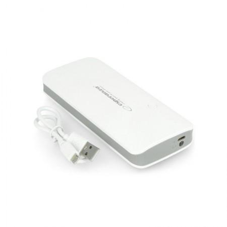 Esperanza Power Bank 8000mAh Radium EMP106WE White Grey