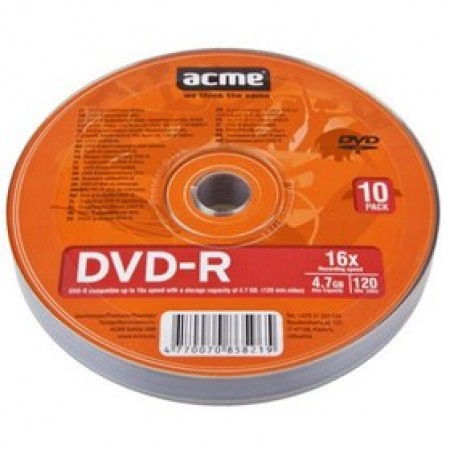 ACME DVD-R 10 KOM Shrink