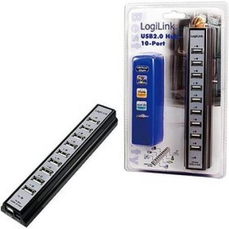 LogiLink USB 2.0 HUB 10 port UA0096