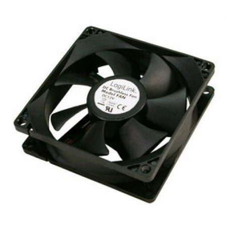 LogiLink Fan 80mm Black FAN101