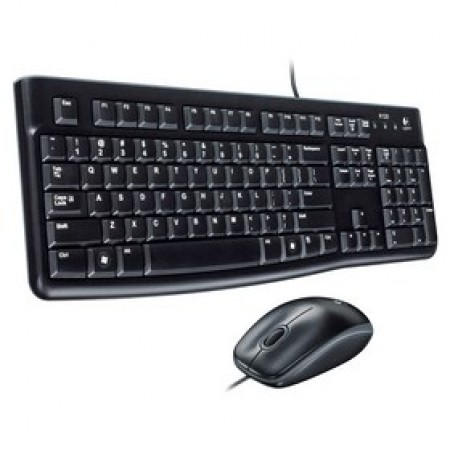 Logitech Desktop set MK120 Black