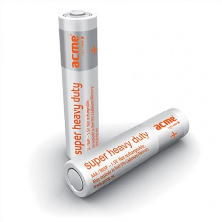 ACME Baterije AAA SuperHeavyDuty R03P 4KOM