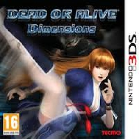 3DS Game Dead of Alive - Dimensions