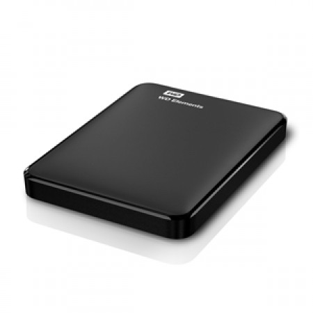 "WD 1TB External HDD Elements Portable 2.5"" USB 3.0 Black"