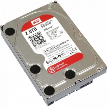WD 2TB SATA3 HDD Red NAS