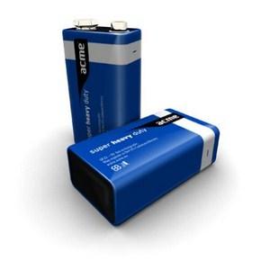 ACME Baterija 9V SuperHeavyDuty 6F22 1KOM