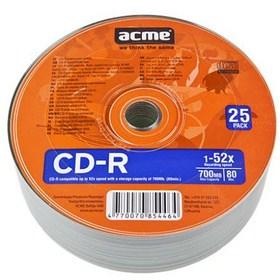 ACME CD-R 25 KOM Shrink