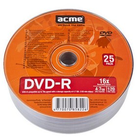 ACME DVD-R 25 KOM Shrink