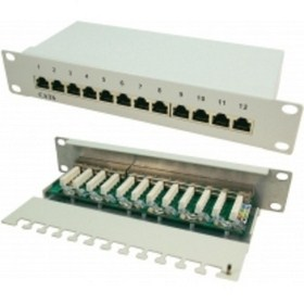 LogiLink CAT6 Patch Panel Shielded 12port NP0041