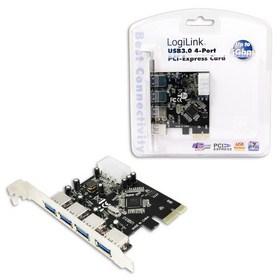 LogiLink PCI-E Card 4x USB 3.0 PC0057A